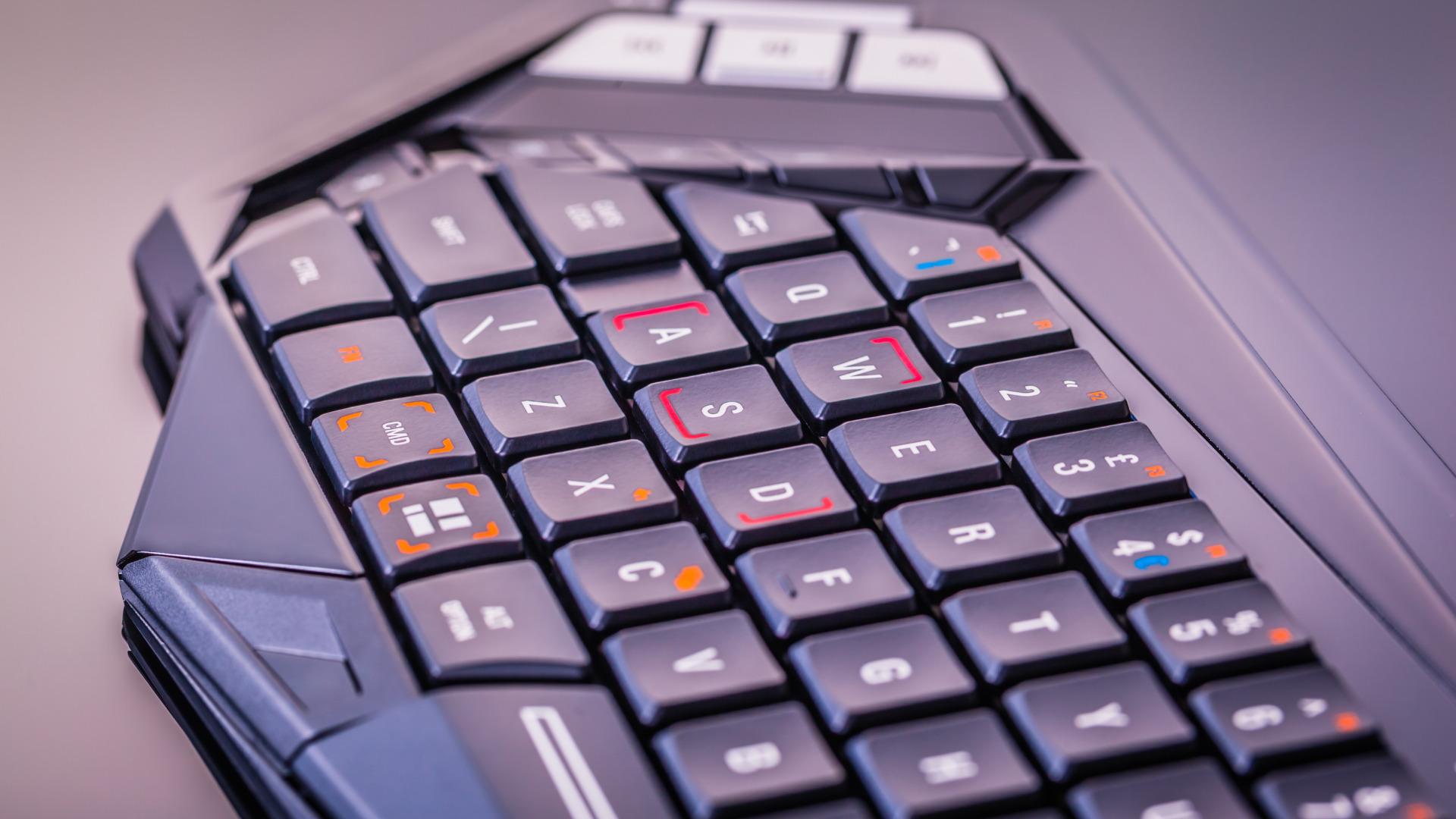 プロゲーマーのキーボード